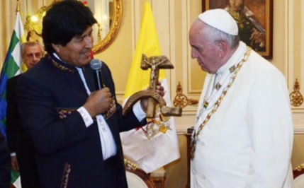 Morales-Papst 2015